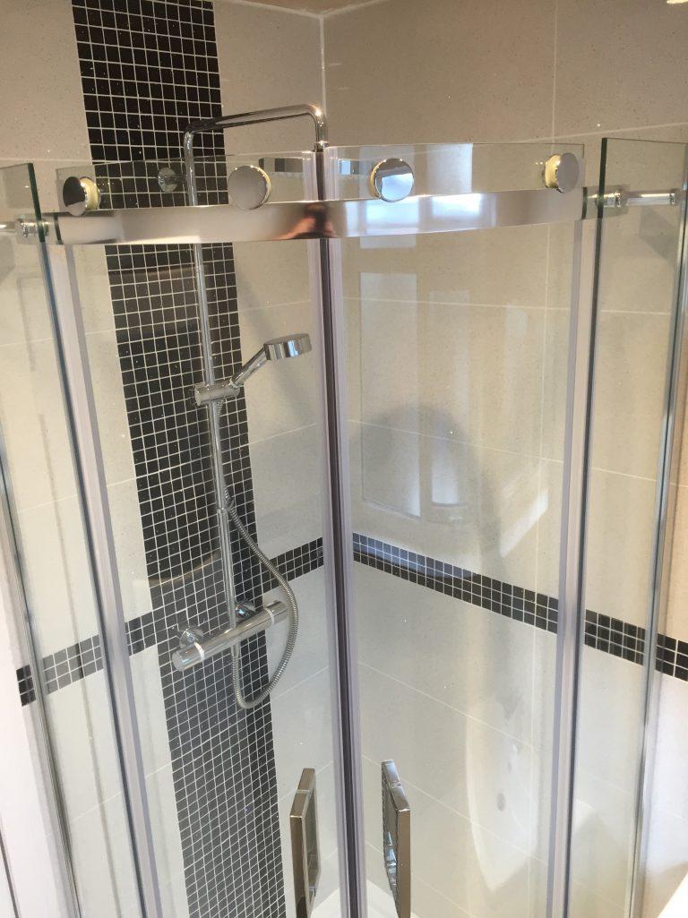 Shower installation in Bristol