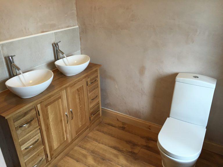Double sink installation Bristol