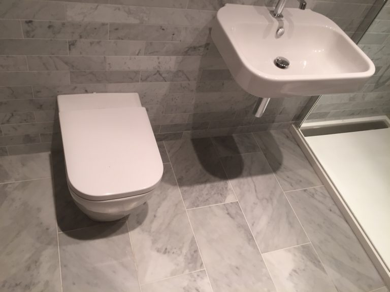 Bathroom floor tiling Bristol