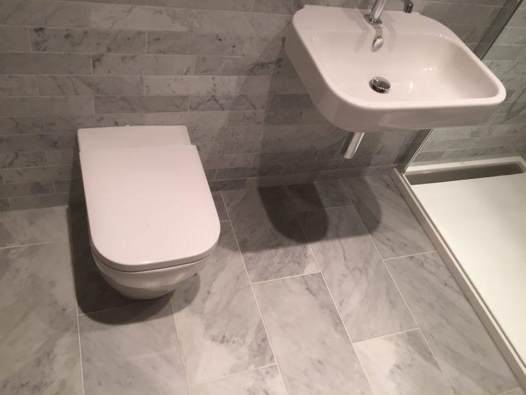 Bathroom floor tiling Bristol