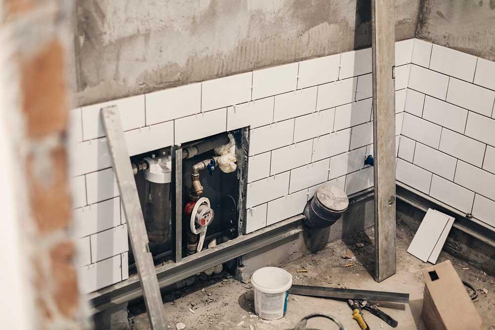 Bathroom drainage & electrical refit